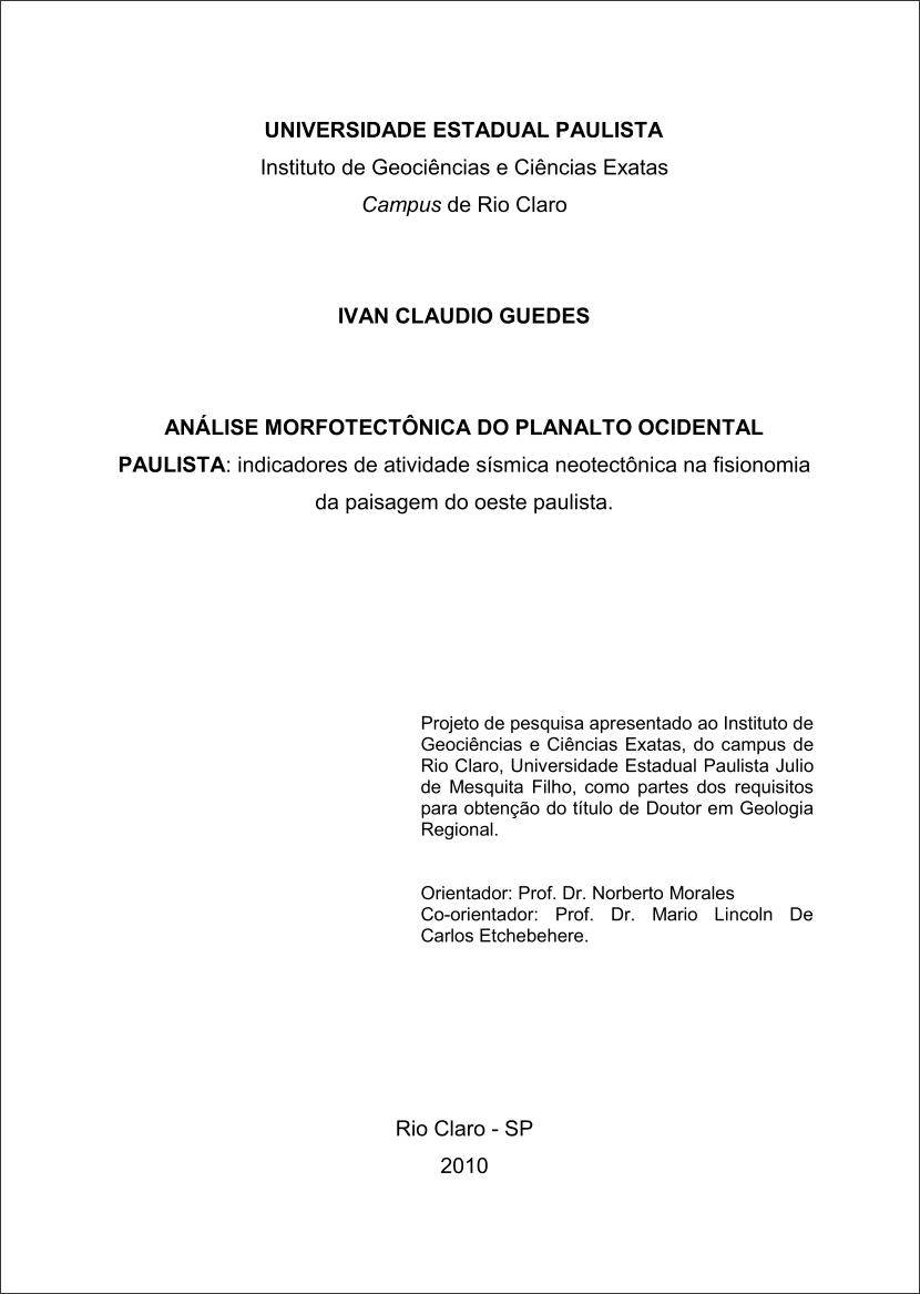 Modelo de projeto de pesquisa 2