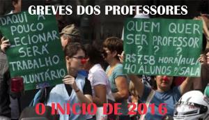 Greves dos professores 2016