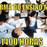 Reforma do Ensino Médio 1400 horas
