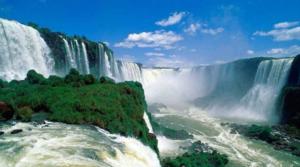 Cataratas vitoria Paisagens naturais da áfrica