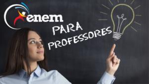 ENEM para professores Curso gratuito em EAD